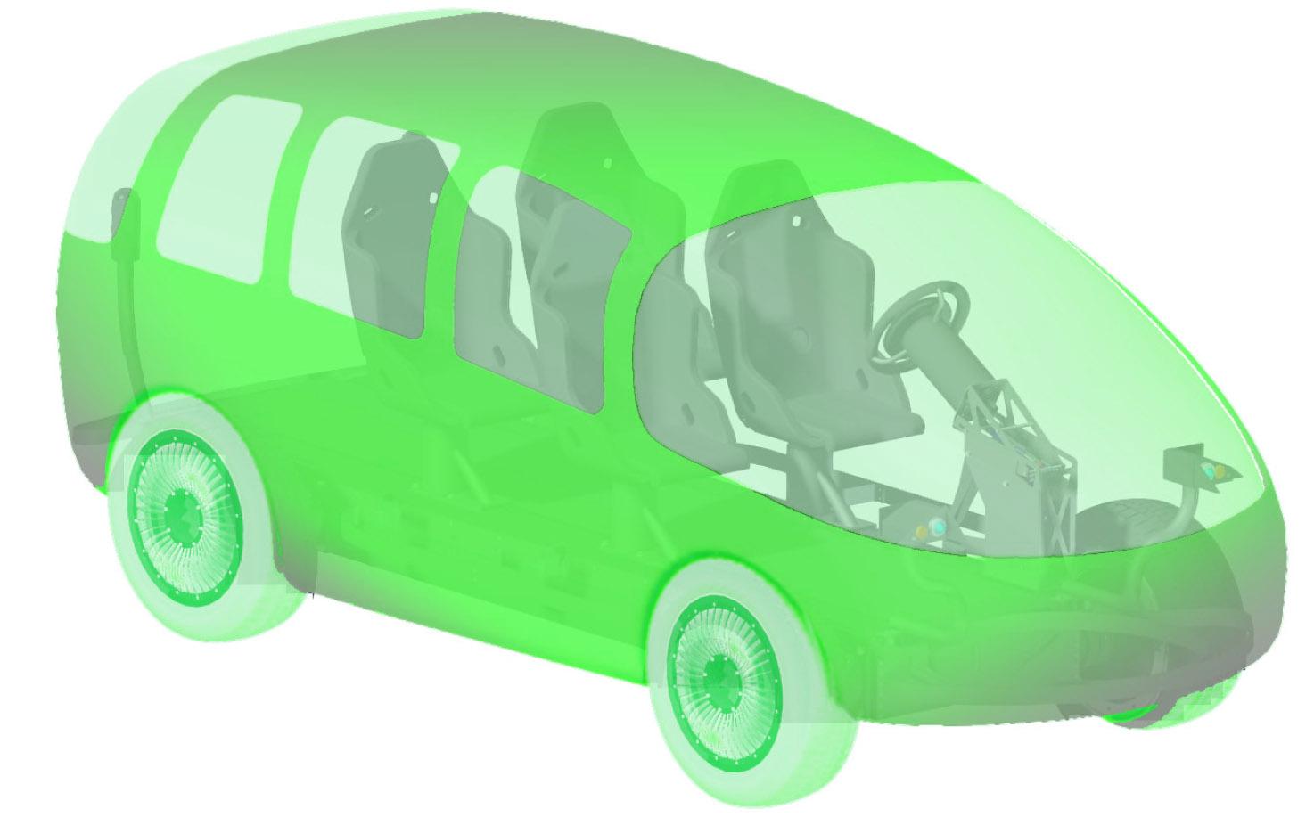 das Hermetic Drive Vehicle